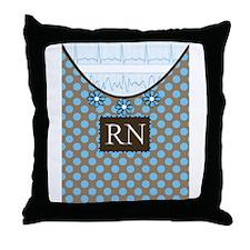 Registered Nurse Throw Pillow