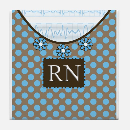 Registered Nurse Tile Coaster