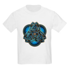 Blue Celtic Triquetra T-Shirt