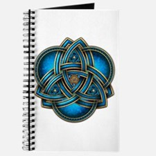 Blue Celtic Triquetra Journal