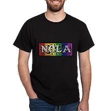 nolairon1gayBLACK2.png T-Shirt