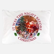 The Night Before Christmas Pillow Case