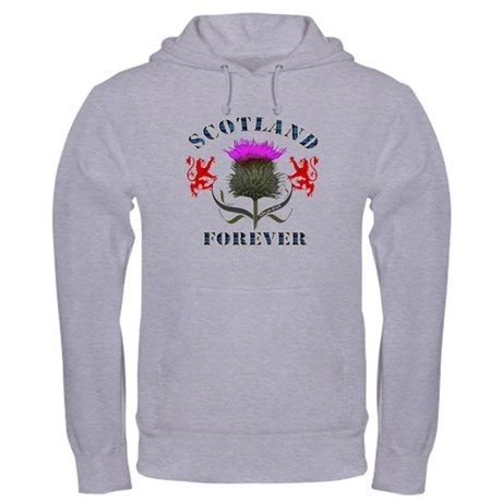 Scotland Forever Thistle Hooded Sweatshirt