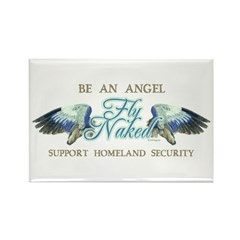 Fly Naked Rectangle Magnet (10 pack)