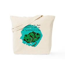 Drunk-a-saurus Tote Bag