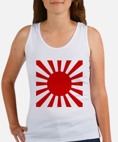 Rising Sun Flag Women's Tank Top