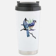 Blue Jays Stainless Steel Trave