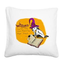Wizicorn Square Canvas Pillow