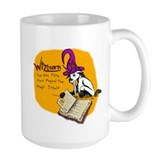Unicorn mug Large Mugs (15 oz)