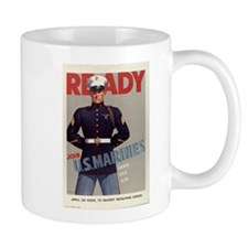 READY JOIN U.S. MARINES Mug