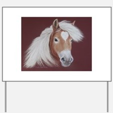 The Love of the Horse Yard Sign
