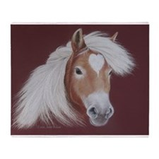 The Love of the Horse Throw Blanket