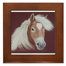 The Love of the Horse Framed Tile