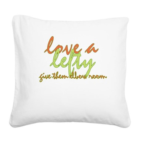 ElbowRoom2.png Square Canvas Pillow