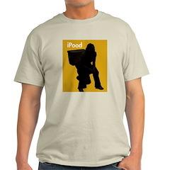 iPOOD - Ash Grey T-Shirt