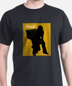 iPOOD - Black T-Shirt