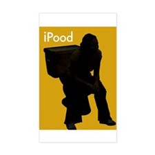 iPOOD - Rectangle Decal