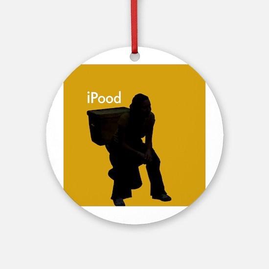 iPOOD - Ornament (Round)