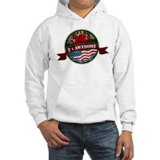 Welsh American 2x Awesome Hoodie