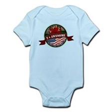 Welsh American 2x Awesome Onesie
