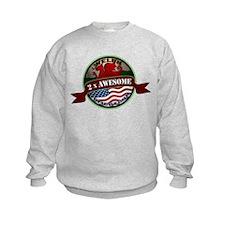 Welsh American 2x Awesome Sweatshirt