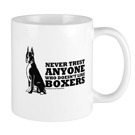 Boxer Fan Mug