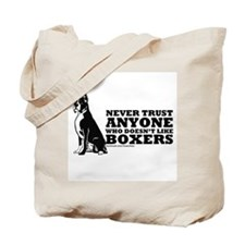 Boxer Fan Tote Bag