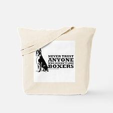 Boxer Fan Tote Bag