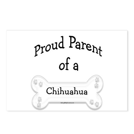 Proud Parent of a Chihuahua Postcards (Package of