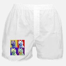Westie a la Warhol! Boxer Shorts