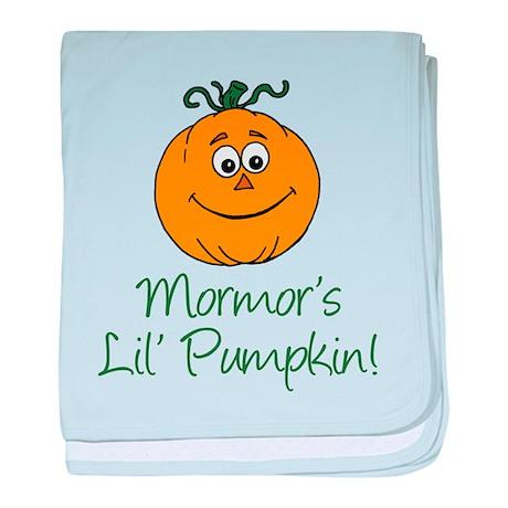 Mormors Little Pumpkin baby blanket