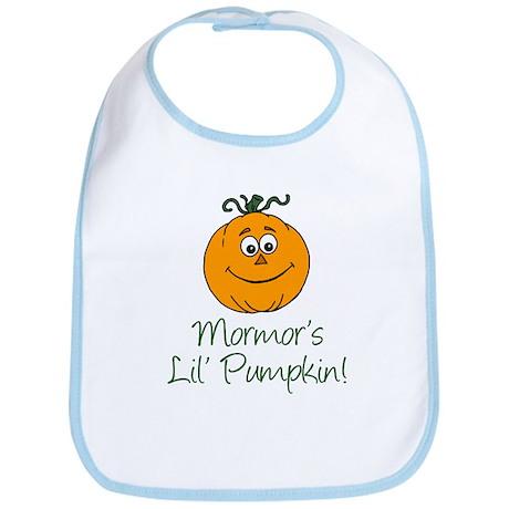 Mormors Little Pumpkin Bib