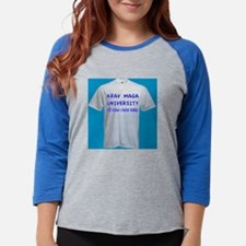 Krav Maga University Womens Baseball Tee