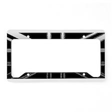 England Union Jack Modern Flag License Plate Holde