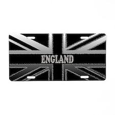 England Union Jack Modern Flag Aluminum License Pl