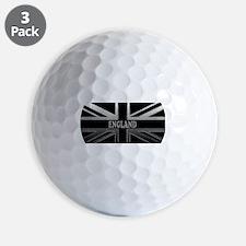 England Union Jack Modern Flag Golf Ball