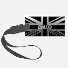 England Union Jack Modern Flag Luggage Tag