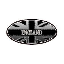 England Union Jack Modern Flag Patches