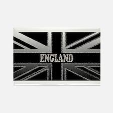England Union Jack Modern Flag Rectangle Magnet (1