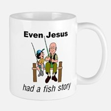 Even Jesus had a fish story Mug