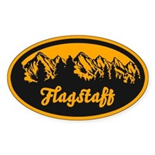 Flagstaff AZ Mountain Decal
