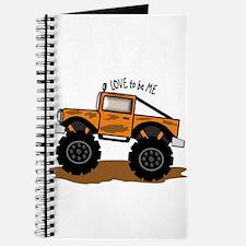 I LOVE MONSTER TRUCKS Journal