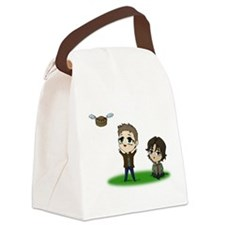 Flying Pie Canvas Lunch Bag