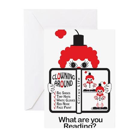 Clowning Around Greeting Cards (Pk of 20)