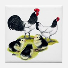 Lakenvelder Family Tile Coaster