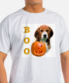 Halloween Beagle Boo Ash Grey T-Shirt