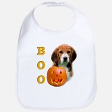 Halloween Beagle Boo Bib