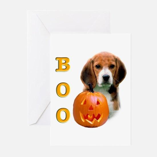Halloween Beagle Boo Greeting Cards (Pk of 10)