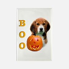 Halloween Beagle Boo Rectangle Magnet