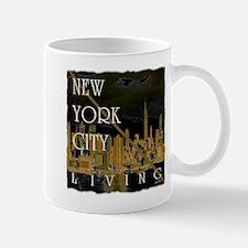 new york cityliving art illustration Mug